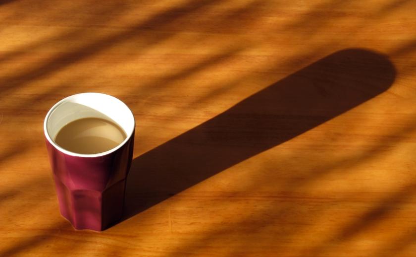 new mug for my morning coffee